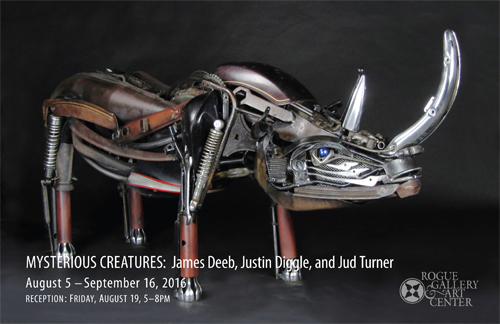 rogue gallery august 2016 exhibits news : Mysterious Creatures