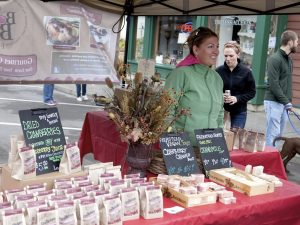 Artisan Vendor at 2015 Bandon Cranberry Festival, Bandon Chamber of Commerce