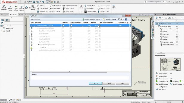 SOLIDWORKS PDM LATEST VERSION OVERWRITE