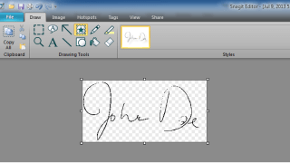 Electronic Signature Stamp