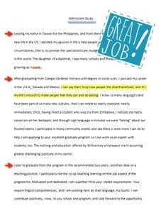 essay image - great job