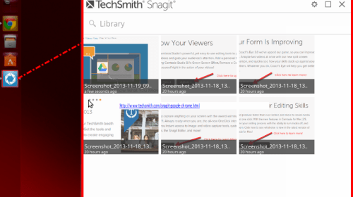 Wait a minute—TechSmith Snagit for...Linux?