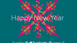 Happy New Year from TechSmith!