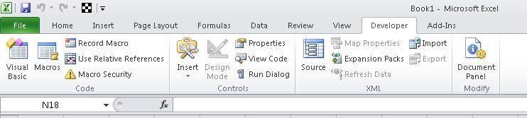 Excel VBA COE Toolbox