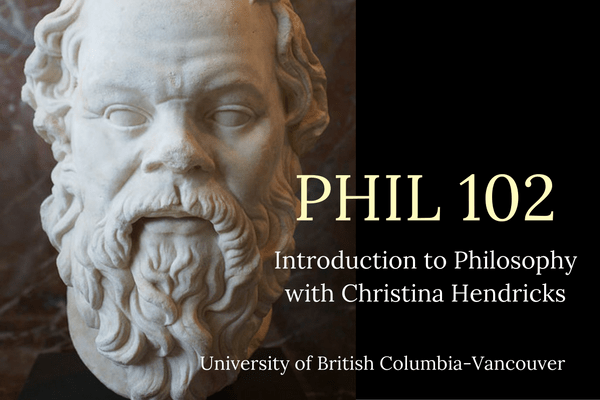 Philosophy 102 Course Site An Intro To Philosophy Course