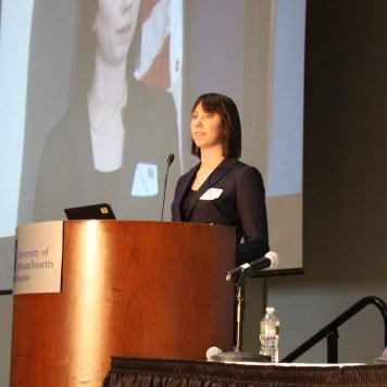 Guest speaker Nicole Allen of SPARC