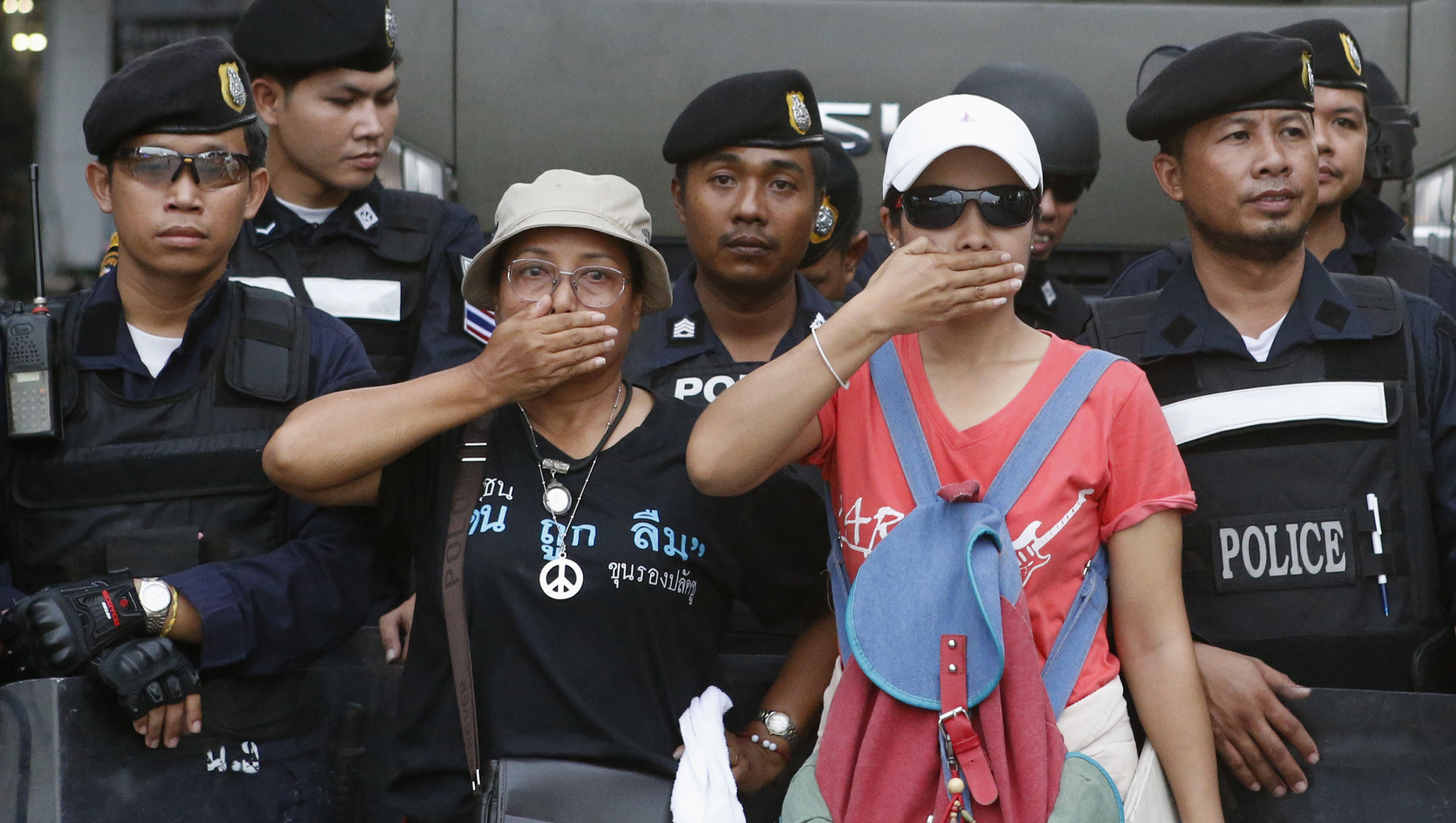 Hat Stand Freedom Thailand In Wake Of Coup Media Freedom Threatened Repressed