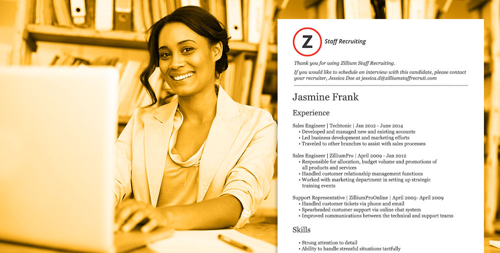 Branding and Formatting Resumes Inside Zoho Recruit « Zoho Blog