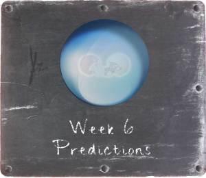 Week 6 Predictions