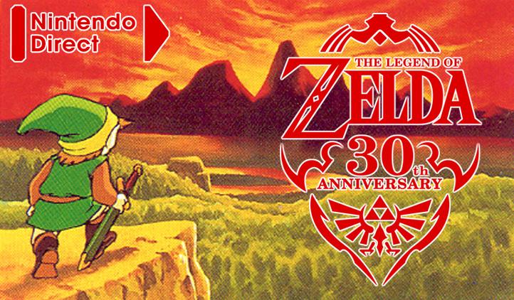 Aniversario 30, The Legend of Zelda, Nintendo Direct, Link, Hyrule, Zelda