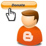 paypal donation button blogger blog