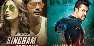 Singham Returns vs Kick