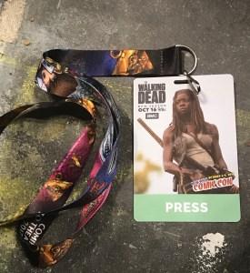 New York Comic Con 2016 Press Pass