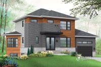 House plans with basement apartment - Drummond Plans