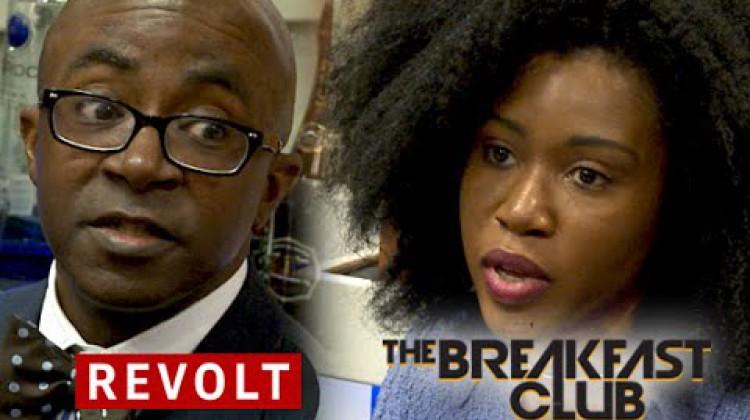 Breakfast Club Interviews Black Enterprise Magazine about Entreprneurship