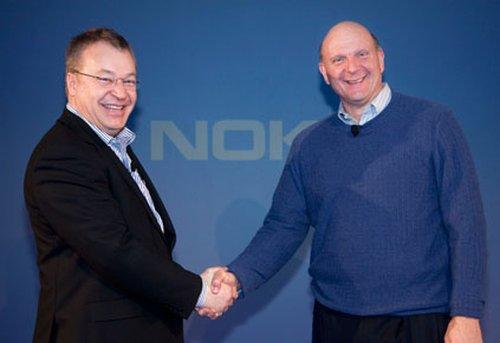 Nokia and Microsoft Collaboration