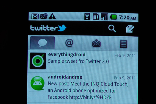 Twitter 2.0 Update Video Preview ScreenShot