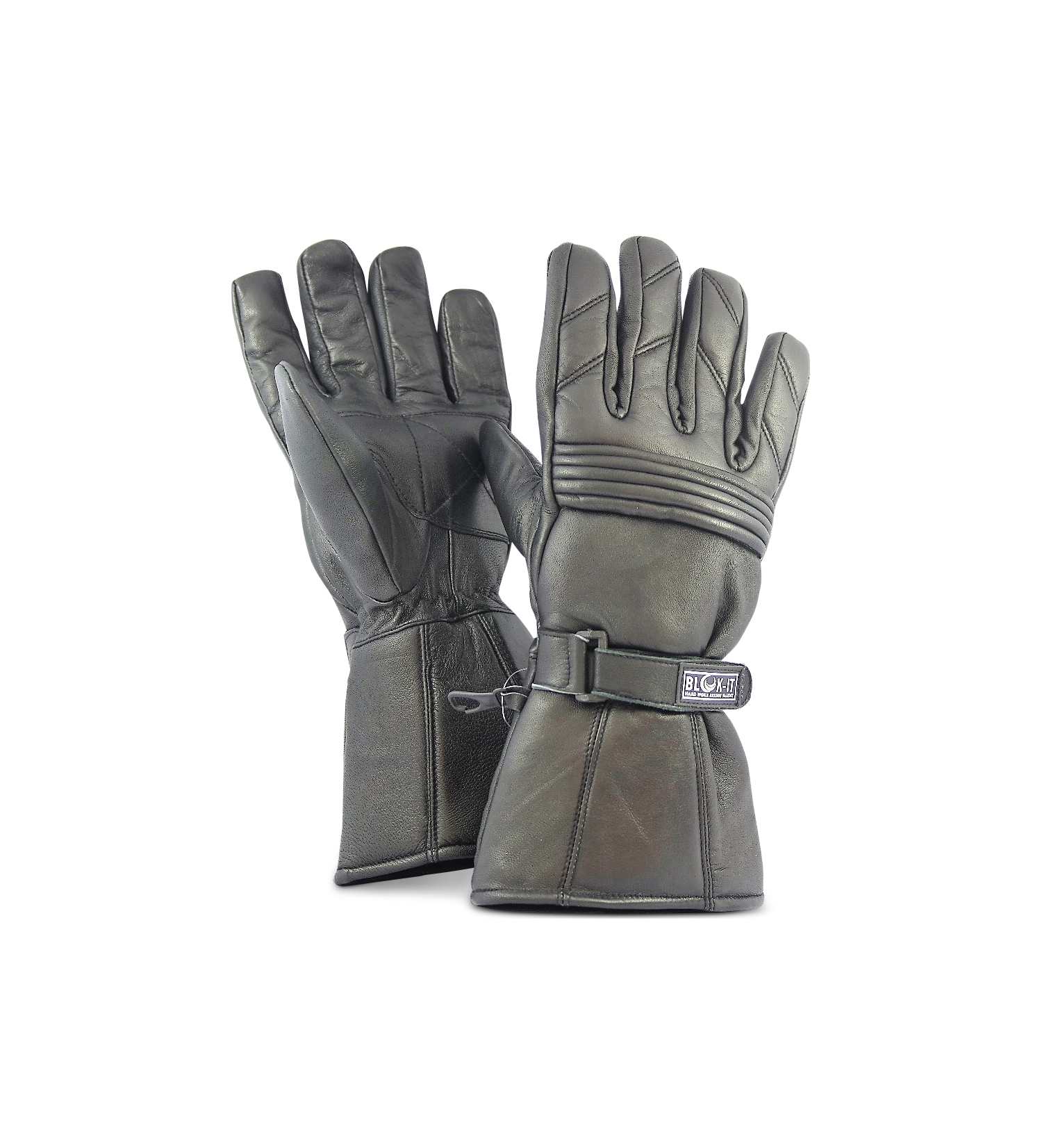 full leather motorcycle gloves by blok it gloves are waterproof