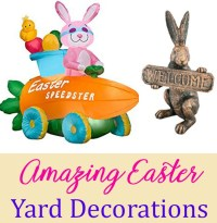 Easter Yard Decorations:Incredible Outdoor Easter