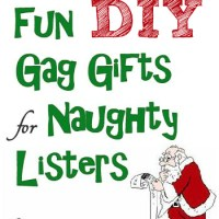 Cute Gag Christmas Gifts to Make