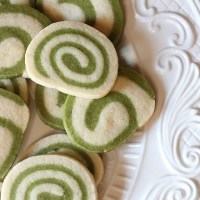 Green Tea Swirl Cookies Recipe