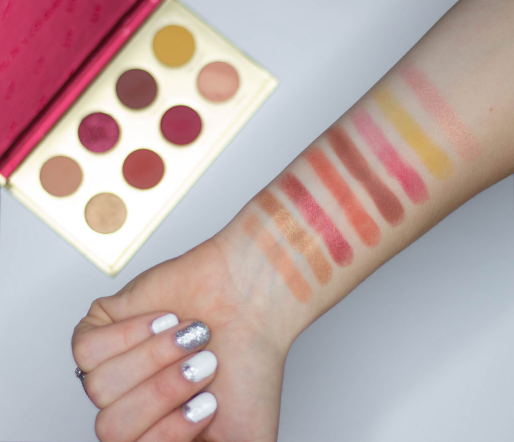 Lit Palette Lit Wet Colourpop Eyeshadow Collection Review Blonde