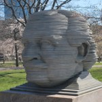Arthur Fiedlers's head (not his real head)
