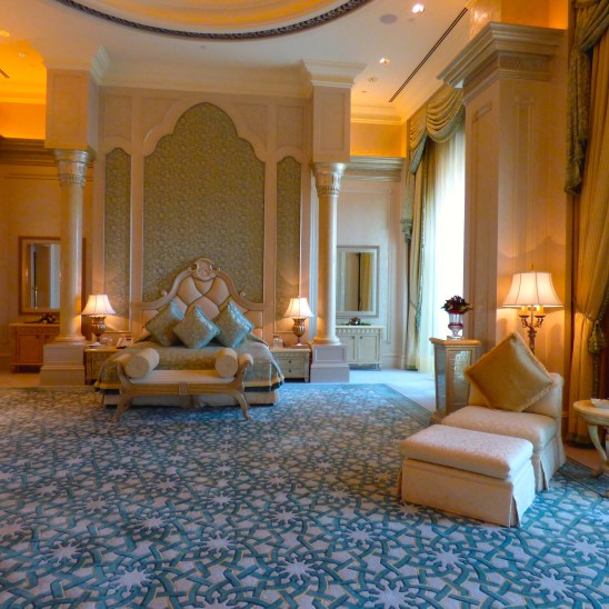 The Emirates Palace, Abu Dhabi