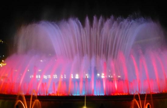 The Magic Fountain, Barcelona, Spain