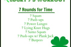 Lucky 7's Body Weight Workout