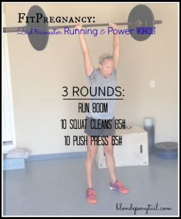 Second Trimester CrossFit WOD
