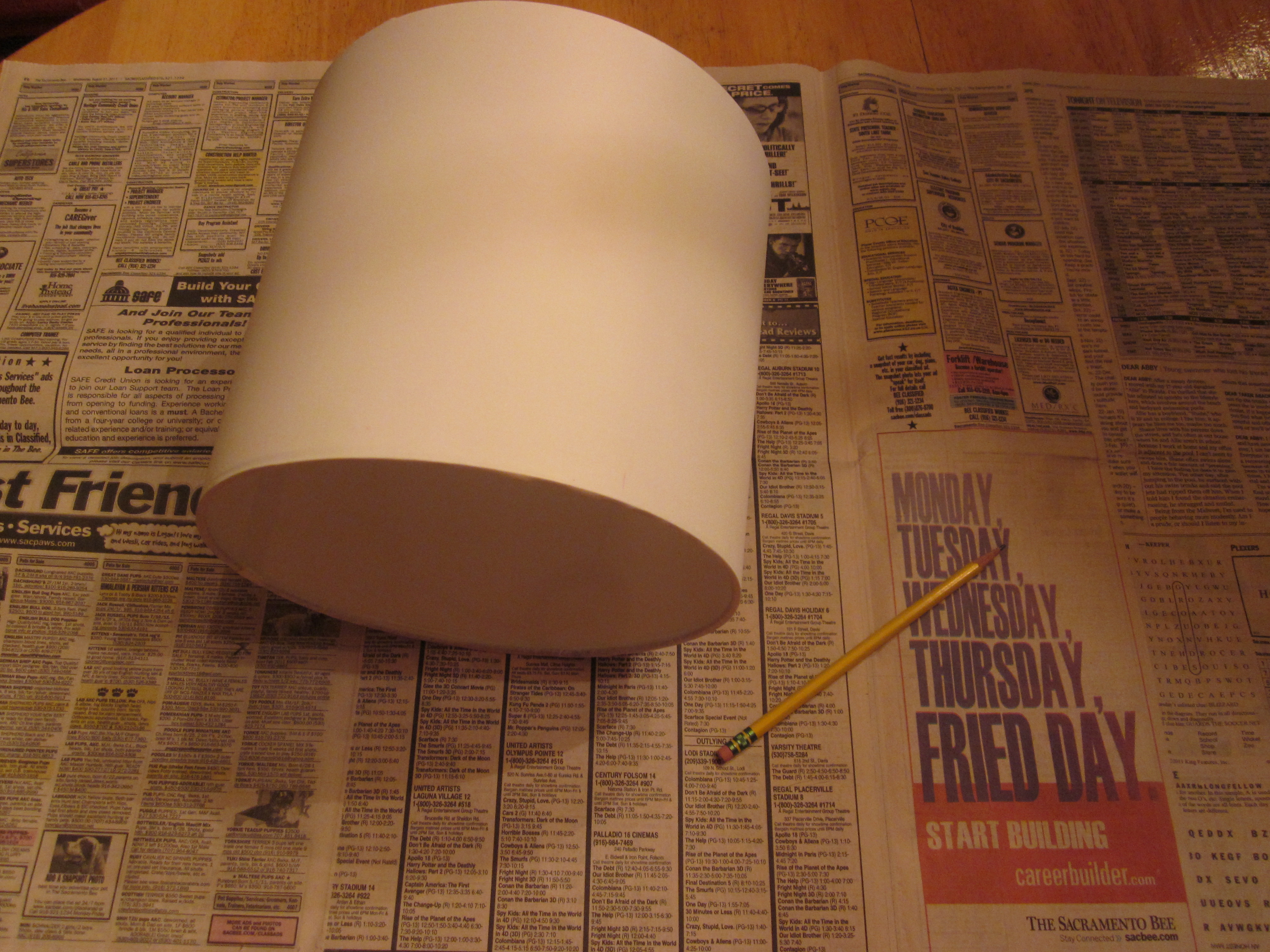 Diy Lampshade Cover Diy Cover A Lamp Shade Blondie Bakes And Bikes