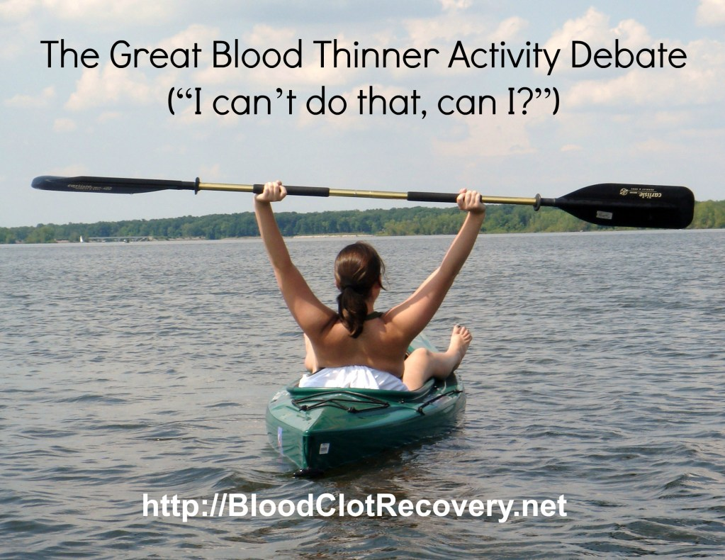 The Great Blood Thinner Activity Debate