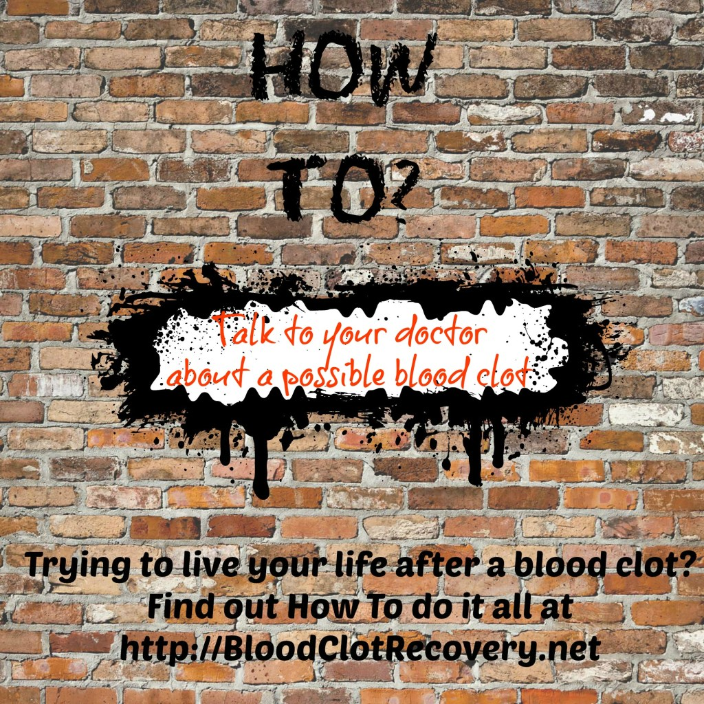 how to know you have a blood clot