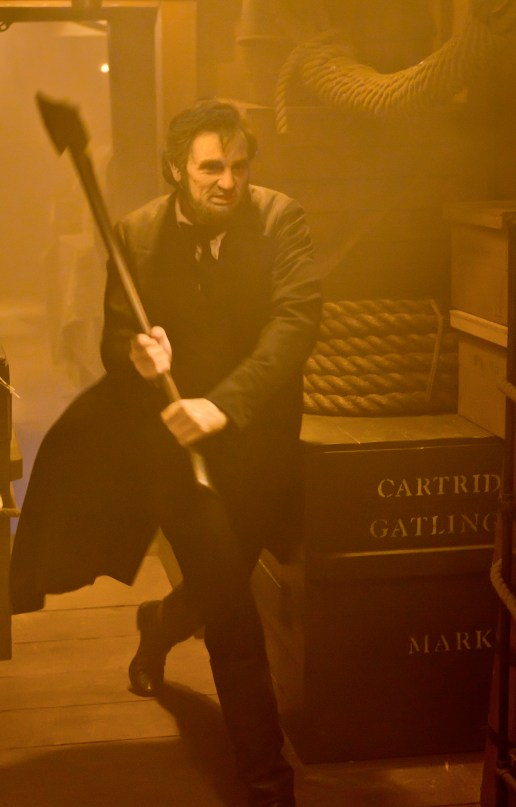 ALVH-408 - Benjamin Walker, as Abraham Lincoln, unleashes the full fury of his wrath against the undead.