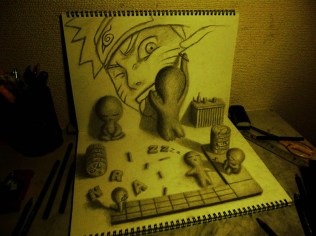 3D-Pencil-drawings-in-sketchbooks-nagai-hideyuki-8
