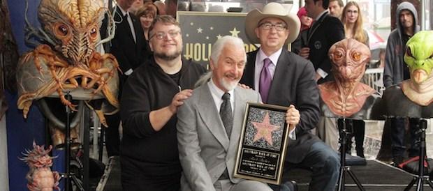Oscar Winning Make-Up Artist Rick Baker Receives A Star On The Hollywood Walk Of Fame