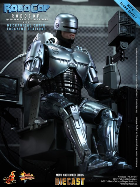 Hot Toys - RoboCop - RoboCop with Mechanical Chair (Docking Station)_PR2