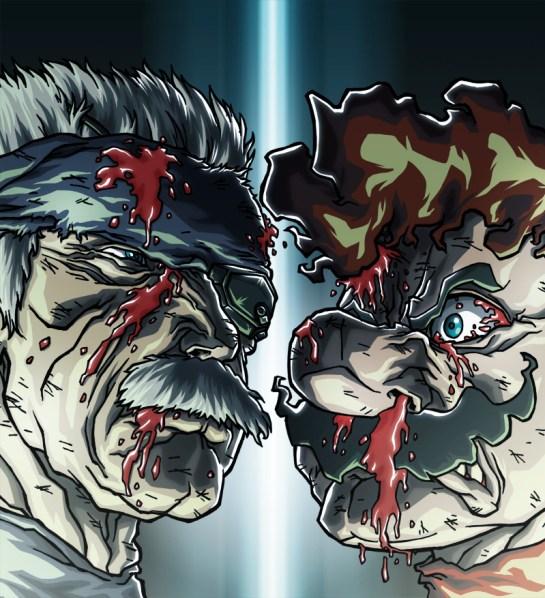 mario_vs__old_snake_by_hermesgildo-d4rd7xh