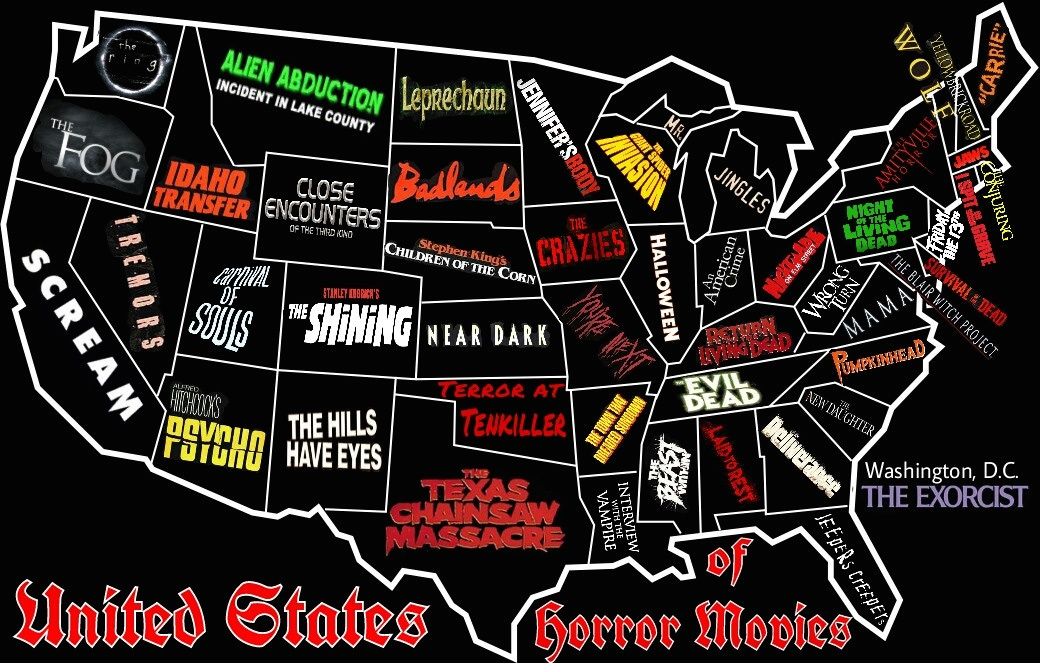 road map of maine with Awesome Horror Map United States on The Great Northern together with Math additionally Tennessee Lpn Requirements And Training Programs likewise P1 state new mexico map also Penobscot River.