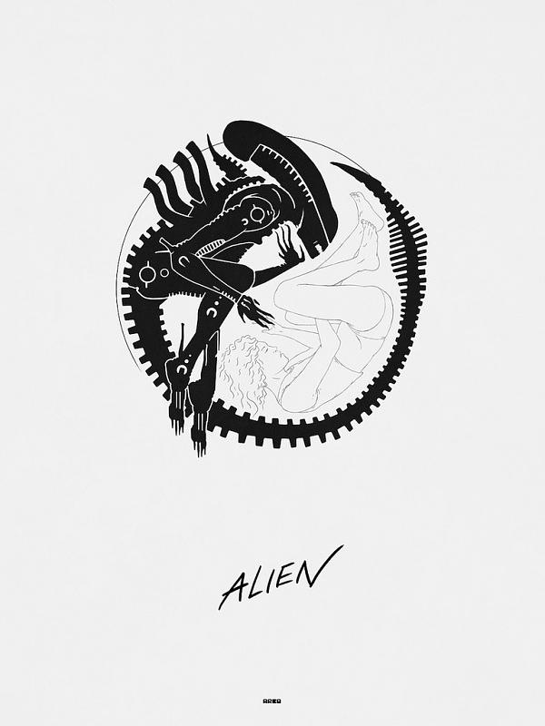 Matt Ferguson Alien