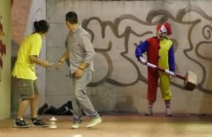 Killer Clown Prank