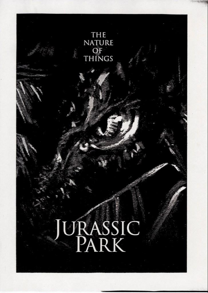 John Alvin – Jurassic Park poster – 1