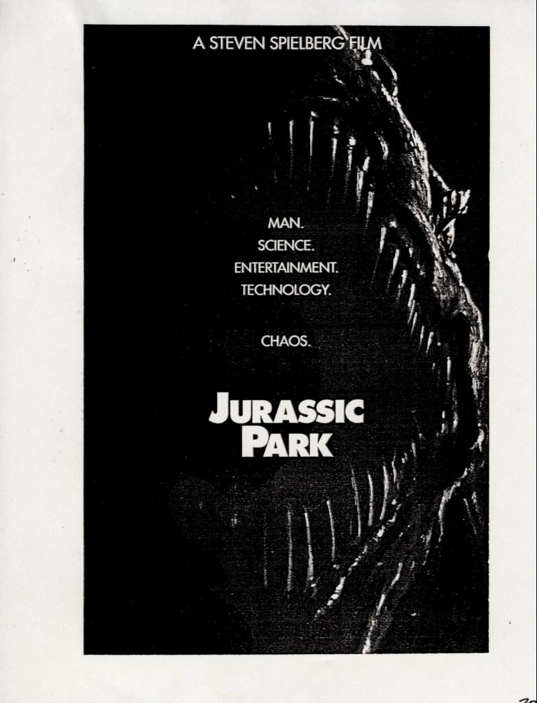 John Alvin – Jurassic Park poster – 6