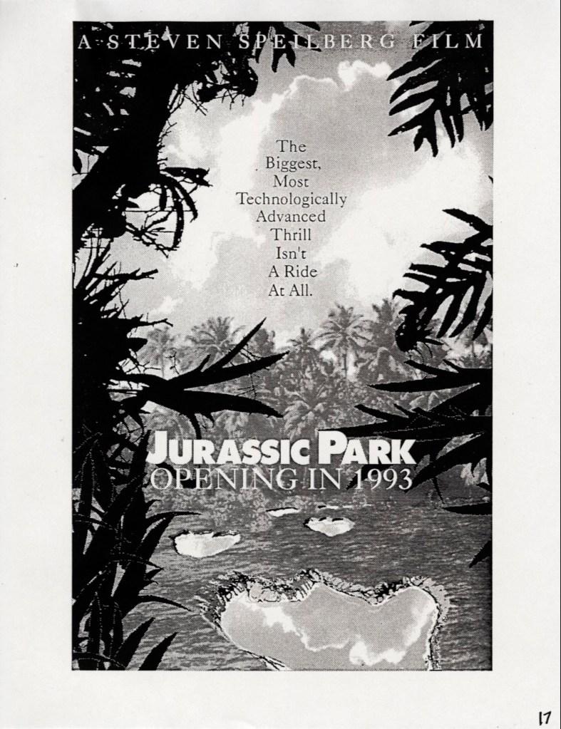John Alvin – Jurassic Park poster – 7