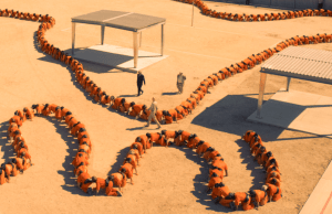 Human Centipede 3, image via IFC and Six Ent.