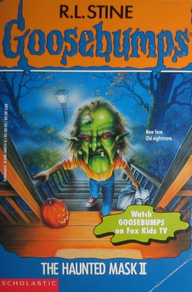 goosebumps the haunted mask book report I'm going to review my experience with the entire goosebumps universe within this book because i have such strong memories of the haunted mask tv episode (which you can, of course, now watch on youtube) rl stine is a master of children's horror and most likely responsible for popularizing the genre my family.