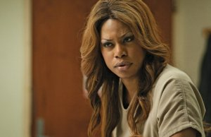 Laverne Cox plays Sophia in the new Netflix original series Orange Is the New Black.