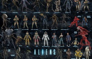 ALIENS visual checklist | via NECA