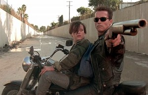 TERMINATOR 2: Judgment Day with Arnold Schwarzenegger, Linda Hamilton, Edward Furlong